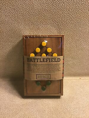 Handcrafted Wood Battlefield Game by Siam Mandalay Single-