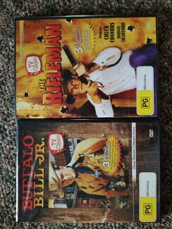 Buffalo Bill Jnr and The Rifleman Brand New DVDs