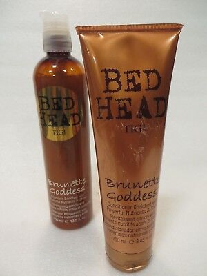 TIGI BED HEAD BRUNETTE GODDESS SHAMPOO & CONDITIONER  DUO