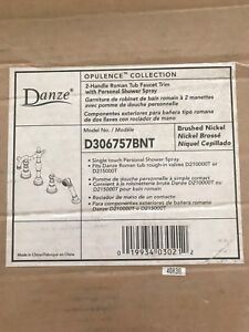 Brand new Danze tub faucet set $945 original price