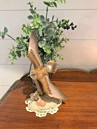 Homco Masterpiece Porcelain Morning Flight Sandpiper