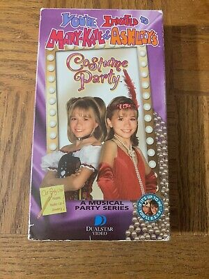 Mary Kate And Ashley's Costume Party VHS - Vhs Tape Costume