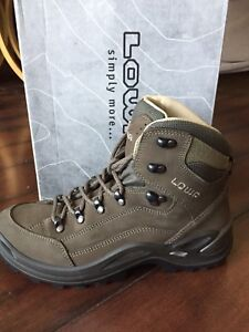 New two pairs of Lowa hiking boots waterproof women's 9