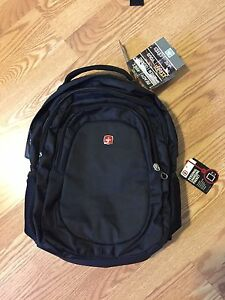 Swiss Gear New Backpack with Laptop Sleeve and RFID Protection