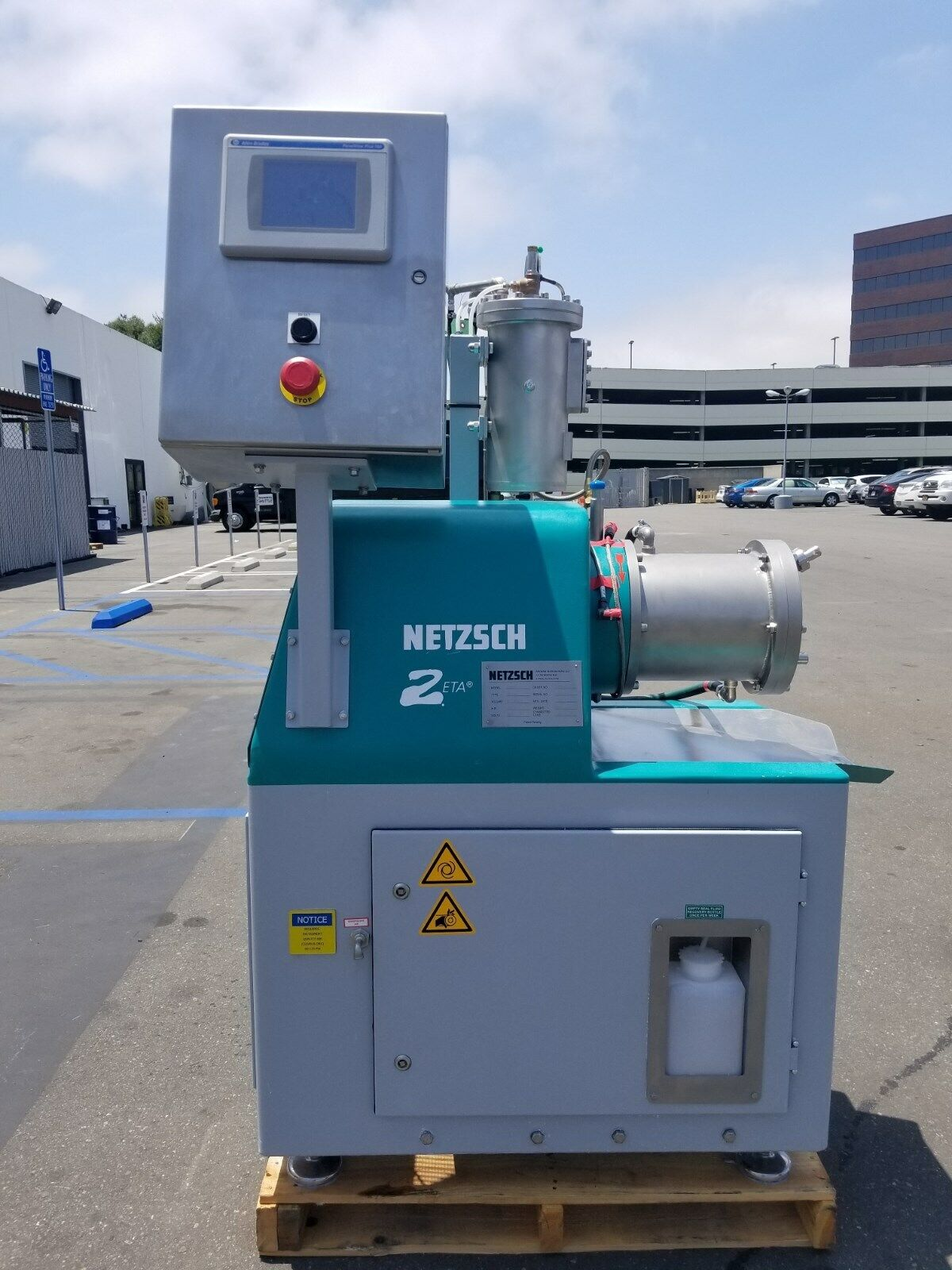 Best NEW – OPEN BOX NETZSCH PREMIER TECHNOLOGIES LMZ4 ZIRCONIA MILLING MACHINE !