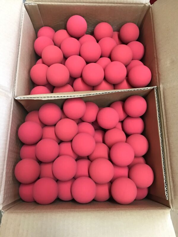 Box Of 144 Ultra-Red Racquetballs