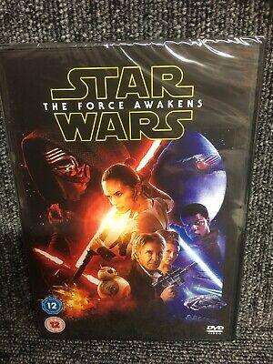 Star Wars The Force Awakens - mint Region 2 DVD. Freepost In Uk