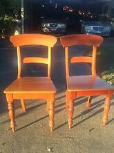Timber chairs set of 2 Clifton Springs Outer Geelong Preview