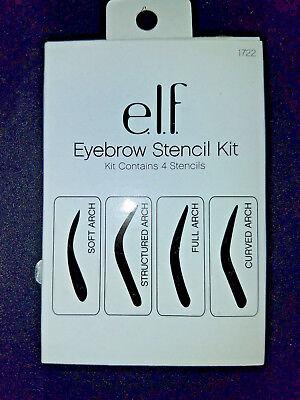NEW ELF ~ Eyebrow Stencil Kit Brow Shape Applicator #1722 ~ E.L.F.