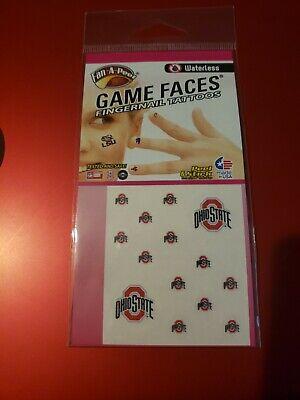 Ohio State University Spartans Game Faces Peel & Stick Fingernail Tattoos ()