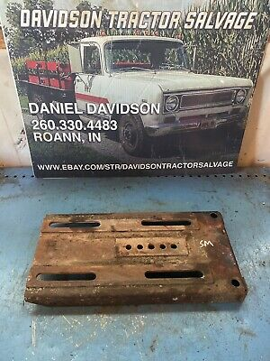 Farmall Super M Sm Tractor Battery Box Seat Base Cover Lid W Bolts Nuts