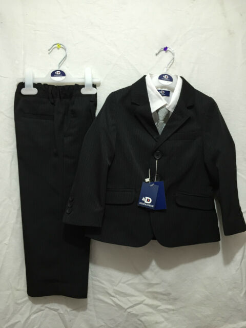 BNWT Baby Boys Size 6 to 9 Months Duck & Dodge 4 Piece Formal Suit Set RRP $80