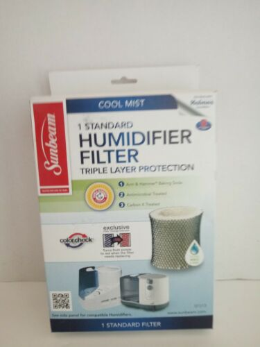Sunbeam Humidifier triple layer protection colorchek filter