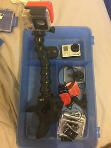 GoPro hero 3+. Including accessories and memory chip Sherwood Brisbane South West Preview