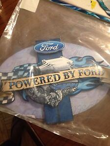 Brand new Metal ford memorabilia