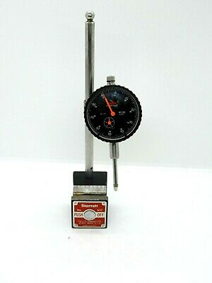 Starrett 657 Magnetic Base With Mhc Dial Indicator