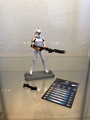 Hasbro Star Wars Legacy Of Terror Clone Trooper Gearshift Figure w/ Head Lamps