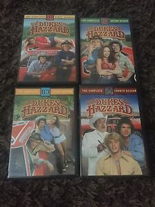Dukes of hazzard seasons 1-4