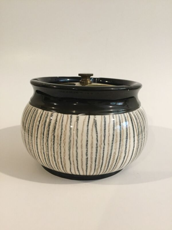 Vintage Crown Devon Humidor/Tobacco Jar Made in England