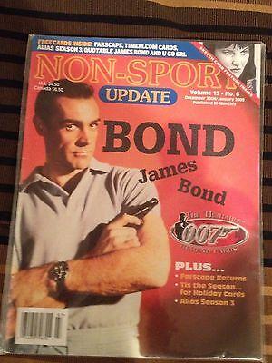 Non-Sport Update JAMES BOND 007 Volume 15 No. 6 (DEC 2004 JAN 2005)