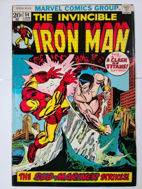 Iron man #54 1st Appearance of Moondragon
