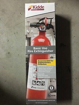 Kidde Fa110 Multi Purpose Fire Extinguisher 1a10bc 1 Pack