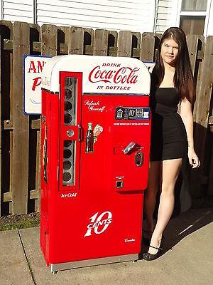 Vendo 81 D Coca Cola Coke Machine, American Icon Pro Restoration BEST IN USA!