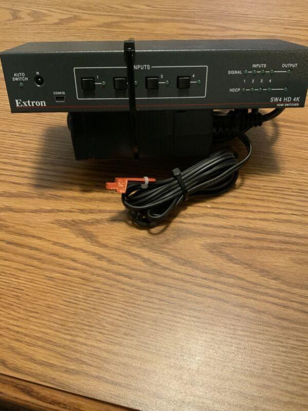 Extron SW4-HD-4K HDMI 4K Video Switcher