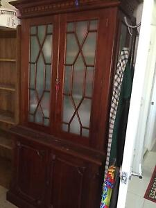 Beautiful Glass doored Antique Cupboard Laidley Lockyer Valley Preview