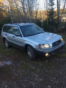 2004 Subaru Forester low km