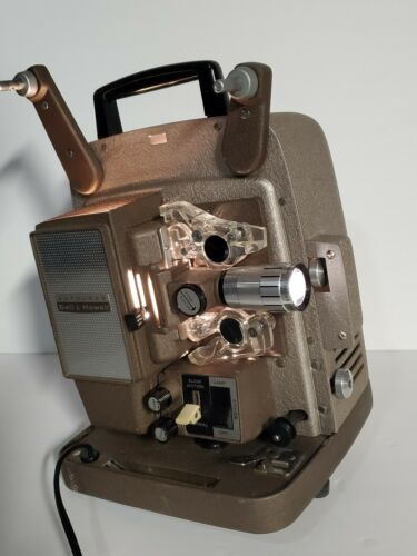 Bell Howell Autoload 8mm Projector Model 266A Rare Vintage Serial BB42332 - $74.95