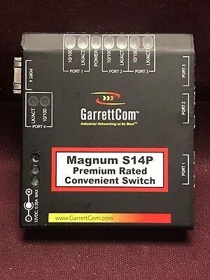 Industrial Hardened Magnum S14p Premium 4-port Ethernet Switch Belden Garrettcom