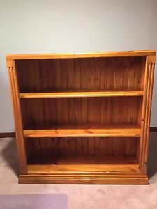 Wooden bookcase Gulfview Heights Salisbury Area Preview