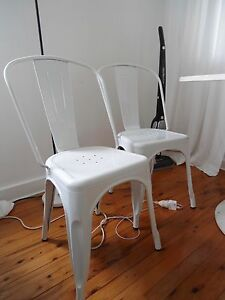 Metal Chairs Elanora Heights Pittwater Area Preview