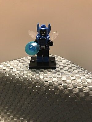 Used, DC Universe LEGO Minifigure Superhero Blue Beetle Comic Book Version, New for sale  Riverside