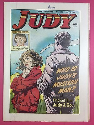 JUDY - Stories For Girls - No.1530 - May 6, 1989 - Comic Style Magazine