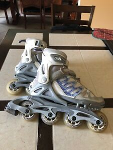 Patin roues alognees