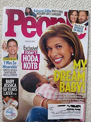 People Magazine March 20  2017 Todays Hoda Kotb My Dream Baby