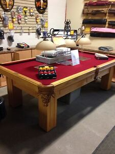 Olhausen Solid Wood Pool Table