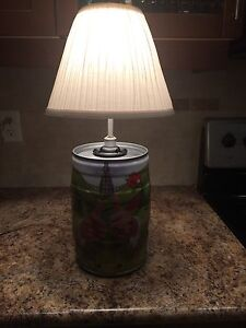 Bubba Beer Keg Lamp