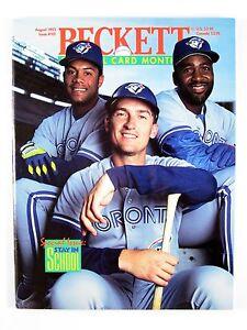 Beckett-BASEBALL-CARD-MONTHLY-101-August-1993-Alomar-Carter-Olerud-Clemens-Snow