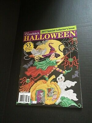 Just Cross Stitch Magazine - Halloween 2017 Special Collector's