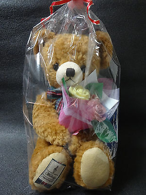 Teddy Bear & Rose Chocolate HAND MADE FROM JAPAN