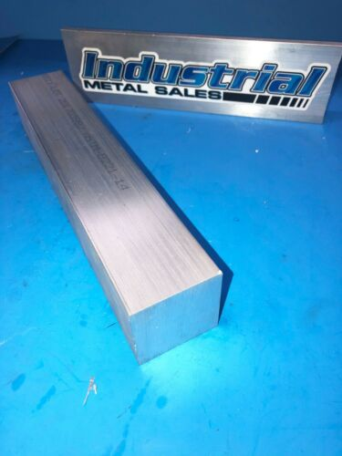"6061 T6511 Aluminum Square bar 2"" x 2"" x 12""-Long-->2"" SQUARE MILL STOCK"
