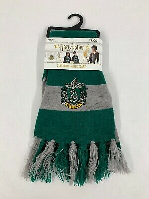 Harry Potter Slytherin House Scarf Child Halloween Costume Accessories - Ages 4+