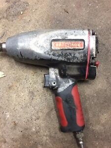 1/2 Impact gun by Craftsman. $40