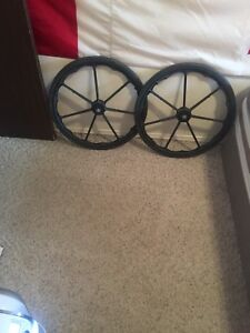 2 wheel chair wheel