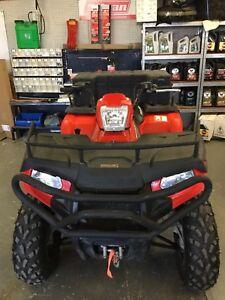 2012 Polaris Hawkeye 400 2WD Farm Quad