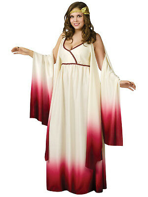 Greek Venus Goddess  Love Halloween Costume Womens Athena Adult Roman Plus - Athena Halloween Costumes