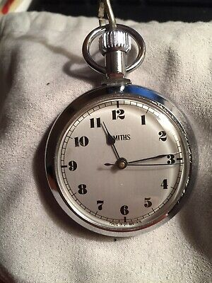 Smiths Pocket Watch Made In Great Britain Approx.1970